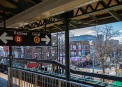 Kingswood Crossing: B/Q Subway Stop