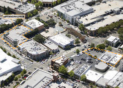 Walnut Creek -South Main: Aerial