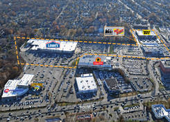 Paramus (Bergen Town Center East): Aerial