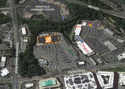 Annapolis (Forest Plaza): Aerial
