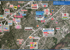 MacDade Commons: MacDade Commons Market Aerial