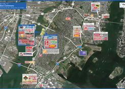 Hudson Commons: Hudson Commons Market Aerial
