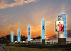 The Outlets at Montehiedra: Montehiedra New Highway Signage